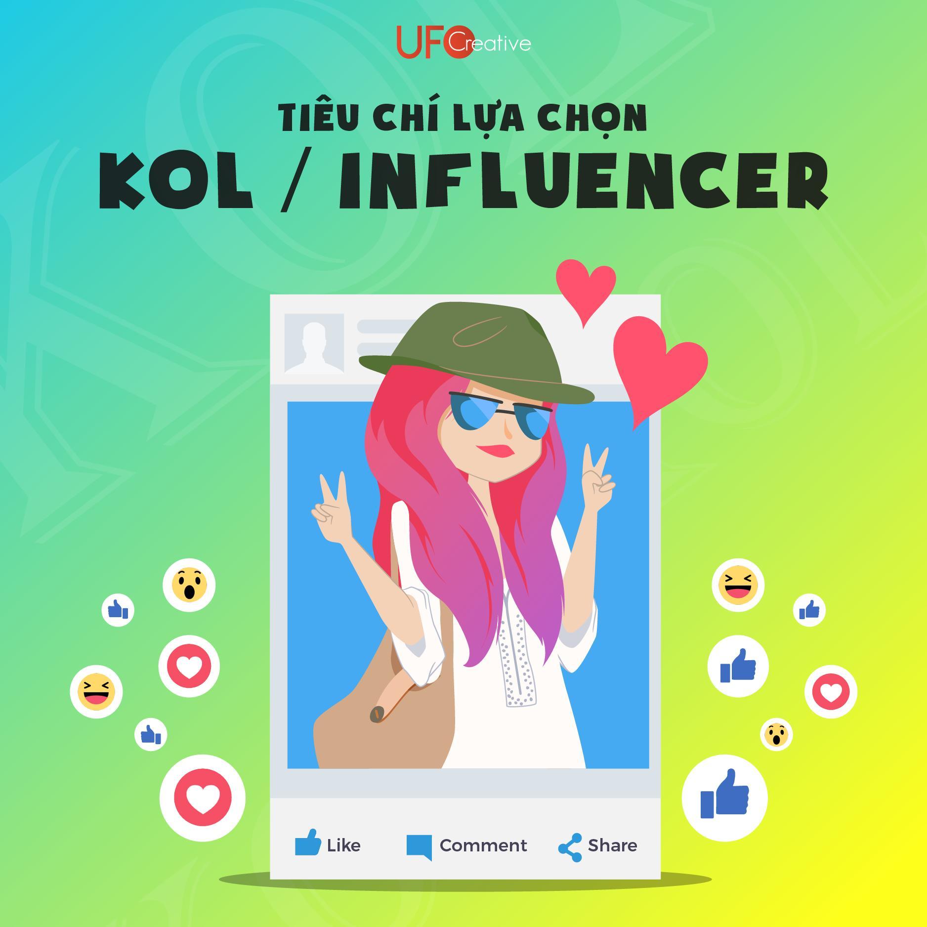 Lựa chọn KOL/ Influencer